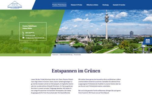 Firmenprofil von: Ihre perfekte Bleibe in München: Pension Fleischmann