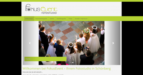 Firmenprofil von: Musikanlagen mieten: Fokusevent Fotostudio