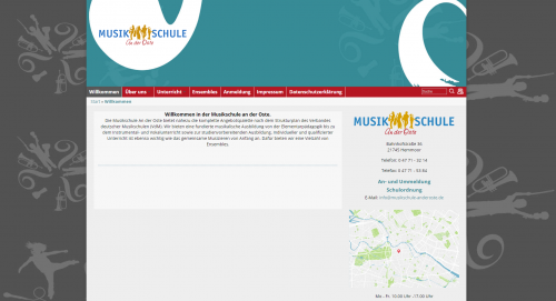 Firmenprofil von: Musikschule an der Oste in Hemmoor