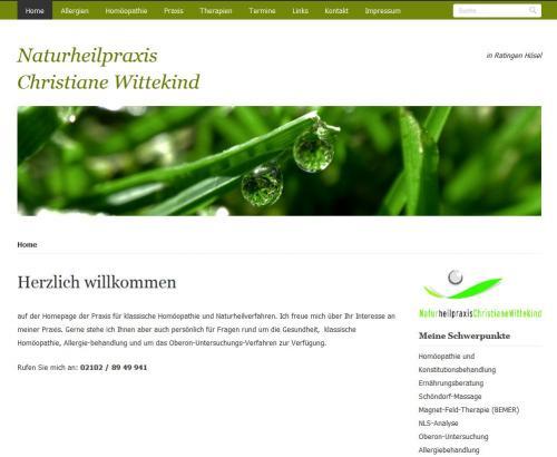 Firmenprofil von: Allergiebehandlung durch Bioresonanztherapie in der Naturheilpraxis Wittekind in Ratingen