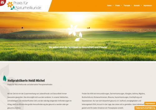 Firmenprofil von: Praxis für Naturheilkunde Heidi Michel in Brackenheim-Stockheim