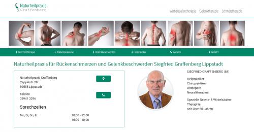 Firmenprofil von: Alternative Gelenktherapie – Naturheilpraxis Graffenberg in Lippstadt