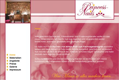 Firmenprofil von: Nagelstudio Princess-Nail`s in Merseburg