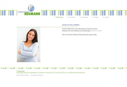 Firmenprofil von: Zahnarzt in Berlin Friedenau: Zahnarztpraxis Neumann