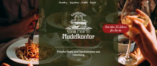 Firmenprofil von: Hausgemachte Nudelspezialitäten in Lüneburg: Lüneburger Nudelkontor