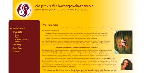 Firmenprofil von: Körperpsychotherapie mit Heilpraktikerin Sabina Obermeyer