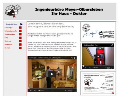 Firmenprofil von: Ingenieurbüro Meyer-Olbersleben – Ihr Haus-Doktor in Lüneburg