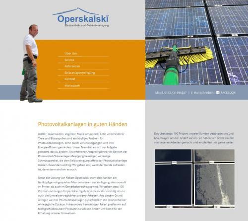Firmenprofil von: Operskalski – Photovoltaik- und Gebäudereinigung in Giebelstadt
