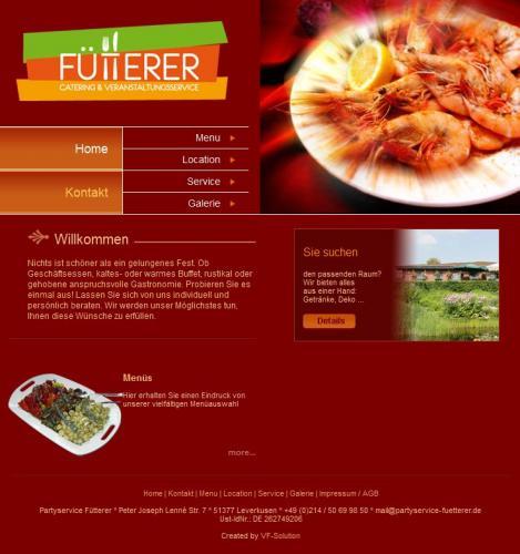Firmenprofil von: Fütterer – Catering & Veranstaltungsservice in Leverkusen