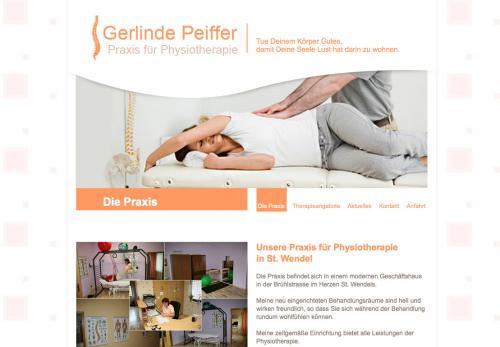 Firmenprofil von: Gerlinde Peiffer – Praxis für Physiotherapie in St. Wendel