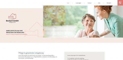 Firmenprofil von: Ambulanter Pflegedienst in Erlangen: Bechert GmbH Pflegeservice
