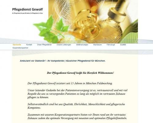 Firmenprofil von: Häuslicher Pflegedienst Ambulant Aktiv in München