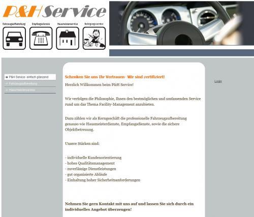 Firmenprofil von: Zuverlässig und individuell: Hausmeisterservice P&H in Einbeck