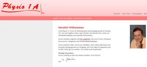 Firmenprofil von: Physio 1A, Physiotherapeutin Angelika Franke in Konstanz