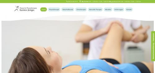Firmenprofil von: Ihre Physiotherapie in Krefeld: Wirbelblockaden lösen