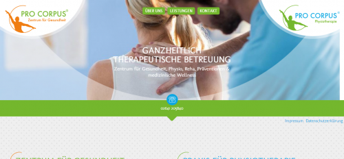 Firmenprofil von: Praxis für Physiotherapie Pro Corpus in Bad Neuenahr-Ahrweiler