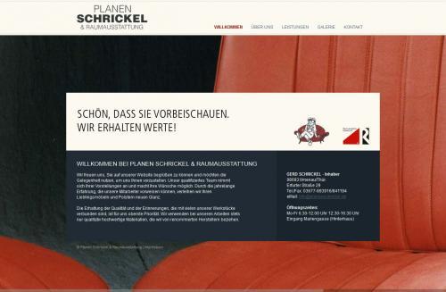 Firmenprofil von: Planen-Schrickel und Raumausstattung in Ilmenau