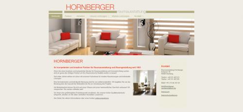 Firmenprofil von: Ihr Partner für Raumgestaltung in Nürnberg: Raumausstattung Hornberger