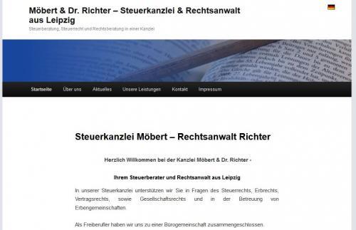 Firmenprofil von: Steuerkanzlei Möbert – Rechtsanwalt Richter in Leipzig