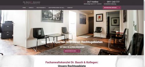 Firmenprofil von: Rechtsanwälte Dr. Bauch & Kollegen – Nürnbergs Experte für Familienrecht