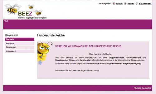 Firmenprofil von: Hundeschule Reiche in Mosbach