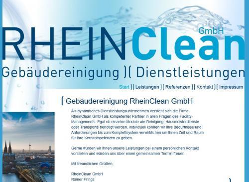 Firmenprofil von: Gebäudereinigung RheinClean GmbH in Köln