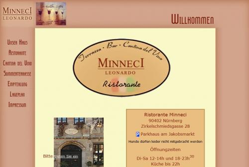 Firmenprofil von: MINNECI Leonardo – Ristorante in Nürnberg