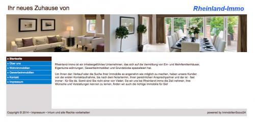 Firmenprofil von: Immobilienmakler in Herzogenrath: Rheinland-Immo - auch für Energieausweise!