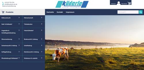 Firmenprofil von: Professionelles Rinderzucht-Zubehör bei Küderle