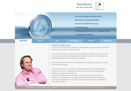 Firmenprofil von: Finanzbuchhaltung durch die Steuerkanzlei Röhr in Essen