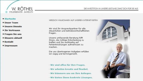 Firmenprofil von: Steuerberater Röthel in Bayreuth