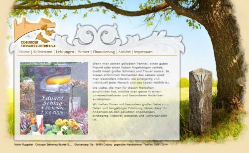 Firmenprofil von: Coburger Steinmetz-Betrieb S.L.