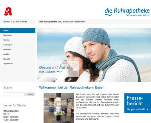 Firmenprofil von: Die Ruhrapotheke in Essen