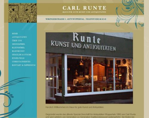 Firmenprofil von: Runte Kunst und Antiquitäten in Wuppertal