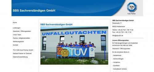 Firmenprofil von: Umfassende Fahrzeugprüfungen vom Profi – SBS Sachverständigen GmbH