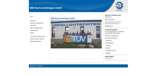 Firmenprofil von: Ihr Partner für Schadengutachten – SBS Sachverständigen GmbH