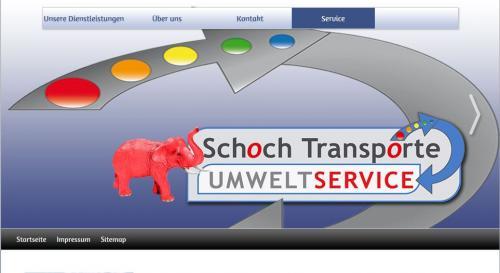 Firmenprofil von: Schoch Transporte in Stuttgart