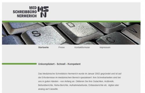 Firmenprofil von: Medizinisches Schreibbüro Nermerich im Saarland