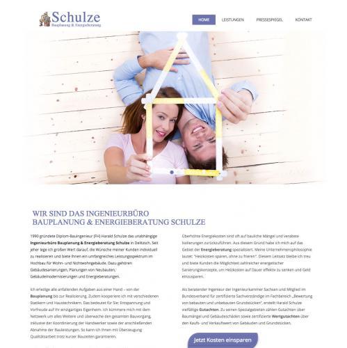 Firmenprofil von: Bauplanung & Energieberatung Schulze in Delitzsch