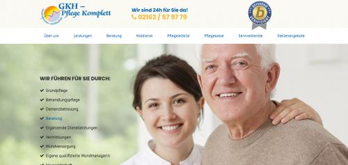 Firmenprofil von: Ganzheitliche ambulante Kranken- und Altenpflege von GKH Pflege Komplett