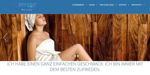 Firmenprofil von: Schwimmbadbau in Bochum: Aquaris Wellness e. K. sorgt für Wohlfühlmomente