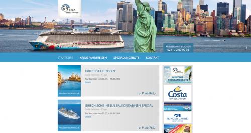Firmenprofil von: Reisebüro Betz-Travel-Service in Erkrath: Traumhafte Kreuzfahrten