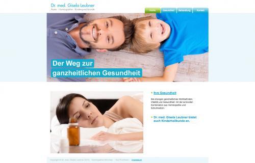 Firmenprofil von: Dr. med. Gisela Leubner, Ärztin und Homöopathie in Puchheim