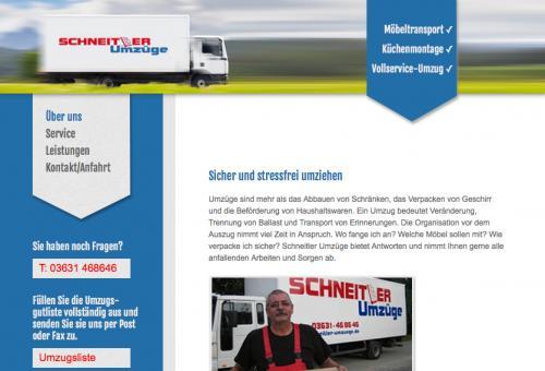 Firmenprofil von: Schneitler Umzüge in Nordhausen