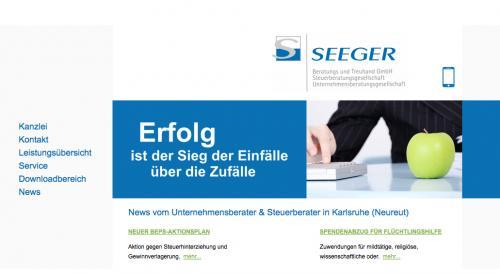 Firmenprofil von: Seeger Beratungs und Treuhand GmbH