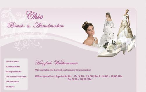 Firmenprofil von: Chic Braut- und Abendmoden in Lippstadt