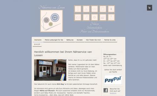 Firmenprofil von: Nähservice van Loosen in Duisburg