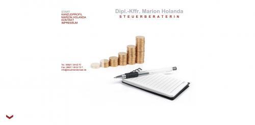 Firmenprofil von: Steuerberatung in Neunkirchen: Diplom-Kauffrau Marion Holanda