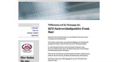 Firmenprofil von: KFZ-Sachverständigenbüro in Berlin: Frank Baer