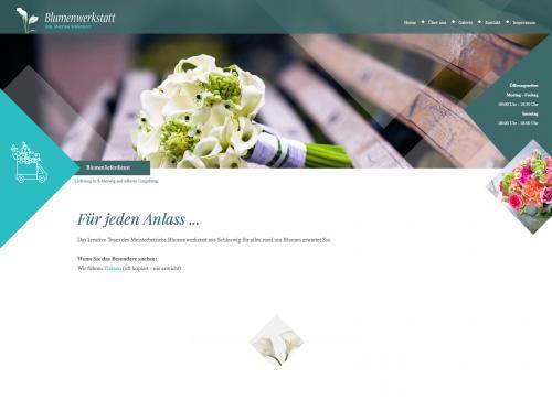 Firmenprofil von: Blumenwerkstatt in Schleswig: frische Blumen und Gestecke